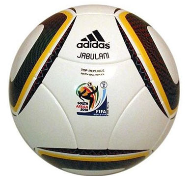 World Cup Jabulani. JABULANI WORLDCUP REPLIQUE